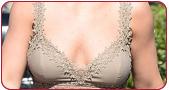 胸部下垂、外扩、变形